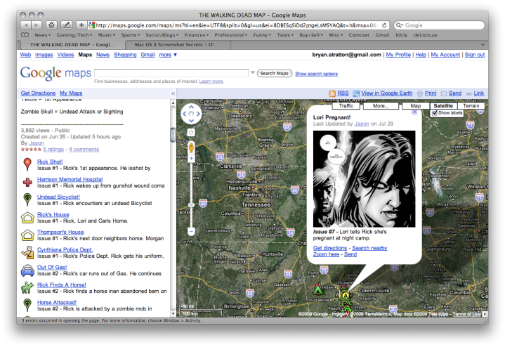 "image © Bryan Stratton/Google Maps/Robert Kirkman/some guy named ""Jason"""